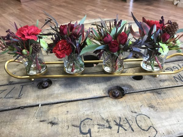Christmas special, festive table centerpiece, Christmas flowers