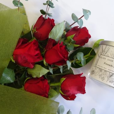 red roses - half dozen, six red roses,red rose, red roses, valentines day, valentines day flowers, valentines day delivery, flower delivery tamworth, tamworth florist, tamworth flowers