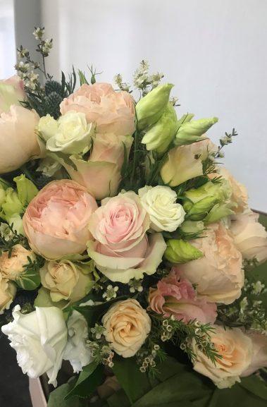 wedding bouquet, tamworth wedding, pastel bouquet, bridal bouquet tamworth, tamworth weddings, tamworth florist, florist tamworth, tamworth wedding florist, rose bouquet, blush bouquet