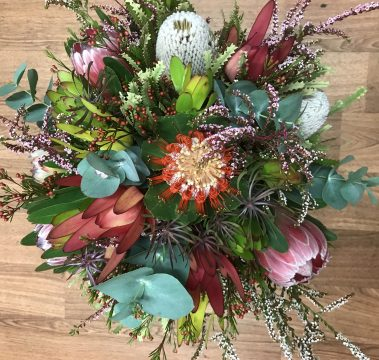 native flowers, natives, native bouquet, tamworth florist