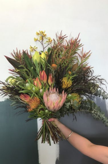 native bouquet, native flowers, tamworth flowers, tamworth flower delivery, tamworth florist, wildflowers