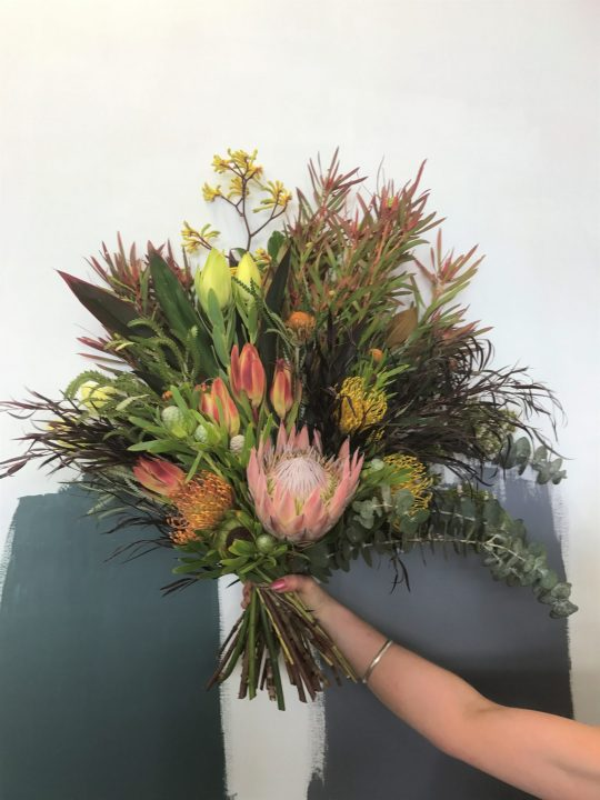 native bouquet, native flowers, tamworth flowers, tamworth flower delivery, tamworth florist, wildflowers