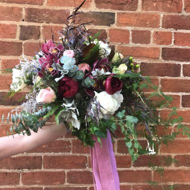 wedding bouquet, tamworth wedding, bridal bouquet, burgundy bouquet, tamworth weddings, tamworth florist, florist tamworth, tamworth wedding florist, boho bouquet