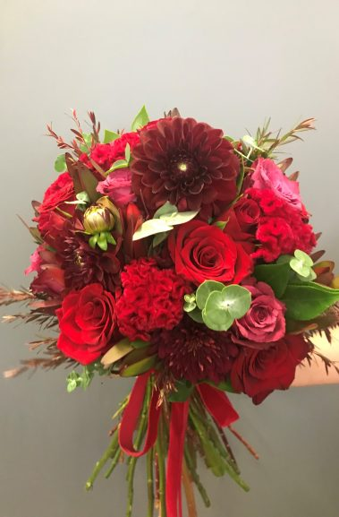 wedding bouquet, tamworth wedding, bridal bouquet, burgundy bouquet, tamworth weddings, tamworth florist, florist tamworth, tamworth wedding florist, boho bouquet, berry bouquet