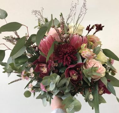 wedding bouquet, tamworth wedding, bridal bouquet, burgundy bouquet, tamworth weddings, tamworth florist, florist tamworth, tamworth wedding florist, boho bouquet, Burgundy Bouquet, blush bouquet