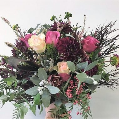 wedding bouquet, tamworth wedding, bridal bouquet, burgundy bouquet, tamworth weddings, tamworth florist, florist tamworth, tamworth wedding florist, boho bouquet, succulent bouquet