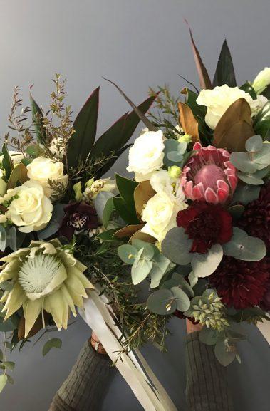 wedding bouquet, tamworth wedding, bridal bouquet, burgundy bouquet, tamworth weddings, tamworth florist, florist tamworth, tamworth wedding florist, boho bouquet, bridesmaid bouquet