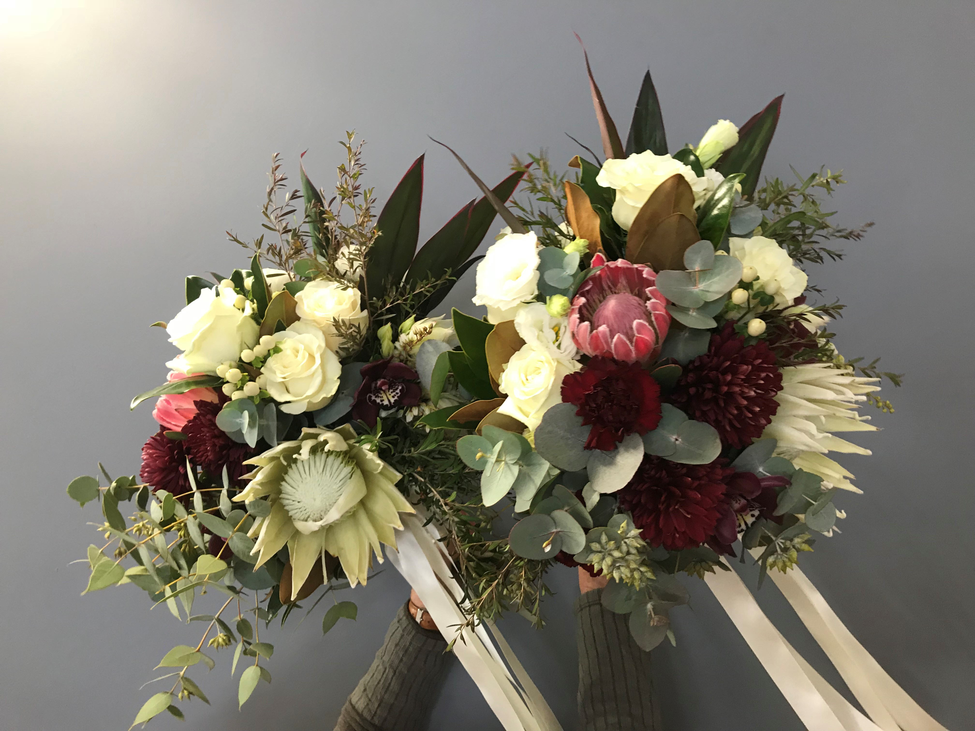 wedding bouquet, tamworth wedding, bridal bouquet, burgundy bouquet, tamworth weddings, tamworth florist, florist tamworth, tamworth wedding florist, boho bouquet, bridesmaid bouquet