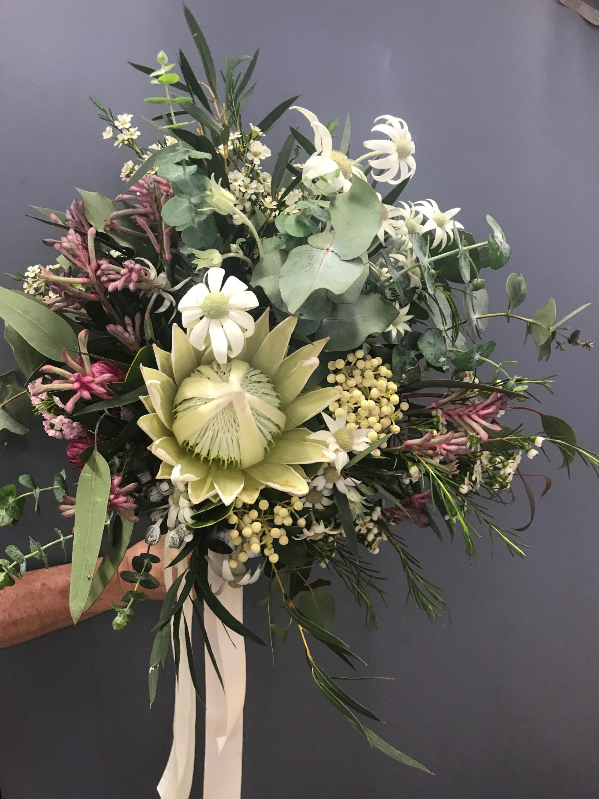 native bouquet, native wedding flowers, rustic wedding bouquet, tamworth wedding, wedding bouquet, bridal bouquet tamworth, tamworth weddings, tamworth florist, florist tamworth, tamworth wedding florist, pastel native bouquet