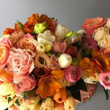 pantone, coral bouquet, wedding bouquet, tamworth wedding, bright bouquet, bridal bouquet tamworth, tamworth weddings, tamworth florist, florist tamworth, tamworth wedding florist