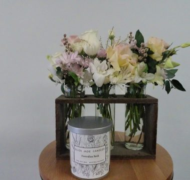 flower bottles, flower, flowers, flower gift, flower delivery, tamworth flowers, tamworth florist, tamworth florist shop, flower shop tamworth, designer bunches, flowers, florist, gift, flowers and candle