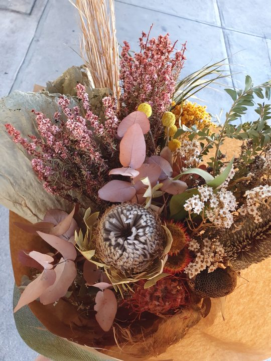 dried flowers, dried bouquet, everlasting flowers, dried flower bouquet, boho bouquet, everlasting flowers,, dried flowers tamworth, tamworth flowers, tamworth dried flowers, tamworth florist, botanic, new england florist, tamworth plants, tamworth nursery