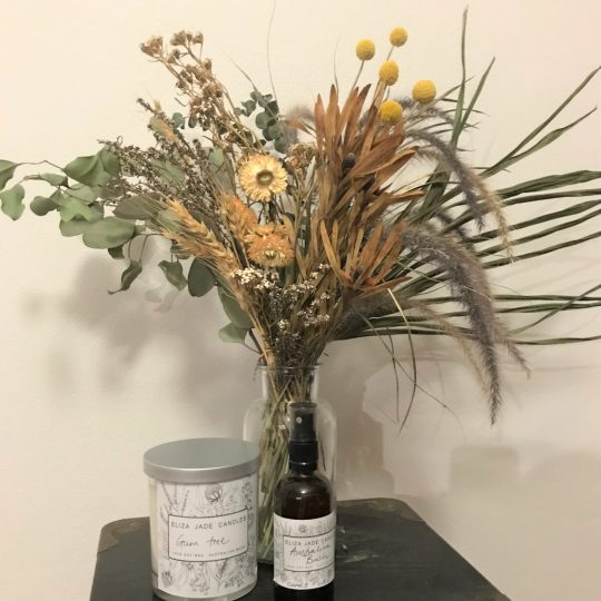 dried flowers, flower gift set,