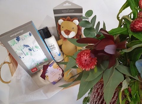 baby blooms and gift, baby bundle, baby boy, its a boy, baby gift, baby delivery, flower delivery, flower delivery tamworth, tamworth flowers, tamworth florist, baby gift